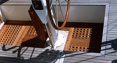 Teakflex Teak Grating Material Shower Interlock Slats